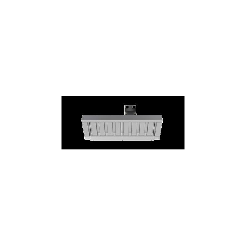 Dampkap met stoom condensator voor Cheftop