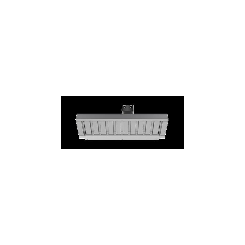 Dampkap met stoom condensator voor Bakertop 60x40