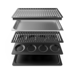 XUC018 - Kookplaten starterskit voor GN1/1 ovens